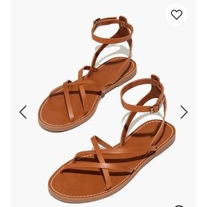 Madewell sandals new with tags